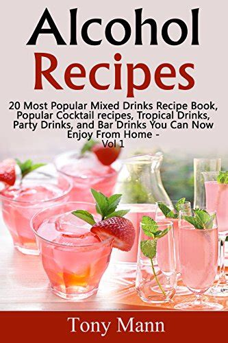 top 20 bar drink recipes cookbooks list the best selling quot party planning quot cookbooks