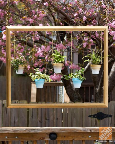 awesome diy ways    hanging gardens fabulous