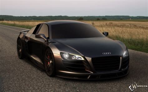 audi r8 wallpaper matte audi r8 black matte wallpaper 1920x1200 3218