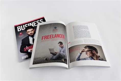 home decor trade magazines business magazine template stockindesign