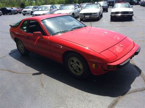 Used Cars La Porte Indiana by Sell Used 1988 Porsche 924s Automatic Actual