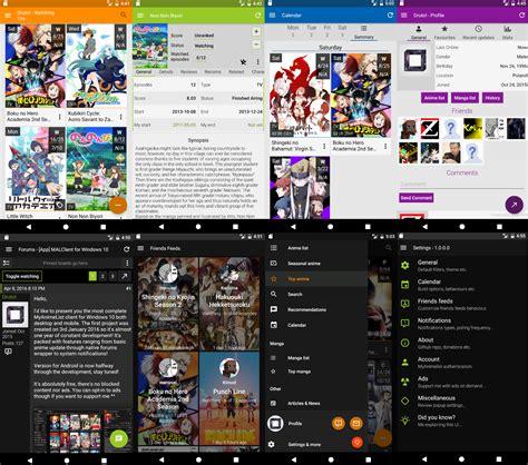 Myanimelist App by App Malclient For Android Forums Myanimelist Net
