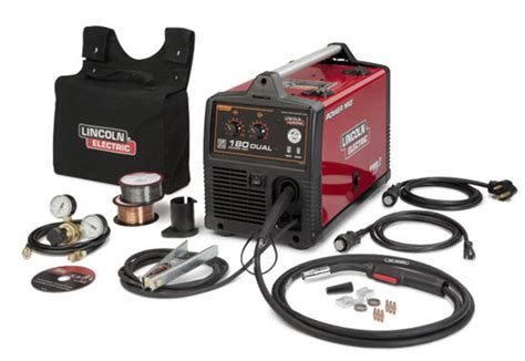 lincoln power mig 180 dual review lincoln power mig 180 dual 1 039 00 used welders and