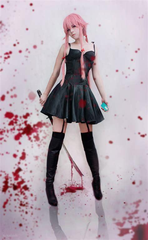 anime cosplay girl wallpaper yuno gasai cosplay by kawaielli on deviantart
