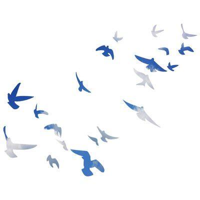 winston porter clent flock  birds flying wall decal