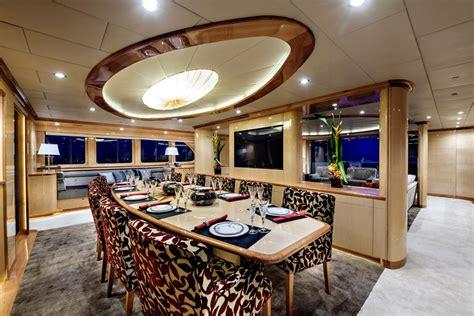 catamaran zenith incat crowther designed superyacht zenith dining yacht