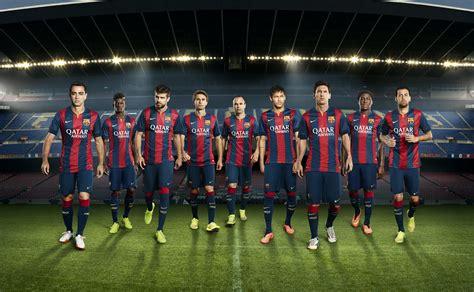 fc barcelona fc barcelona 14 15 2014 15 home away and third kits