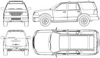 Drawing Blueprints car blueprints ford expedition blueprints vector drawings clipart