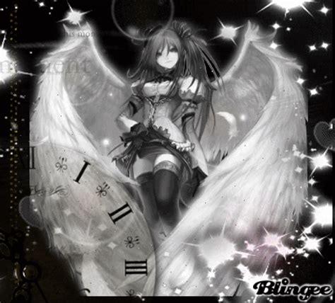 imagenes angel negro angel blanco y negro fotograf 237 a 127250864 blingee com