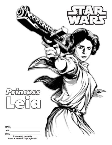Free Coloring Pages Of Star Wars Princess Leia Wars Princess Leia Coloring Pages Free Coloring Sheets
