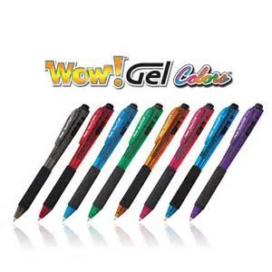 pentel color pens pentel wow gel colors sparkle retractable