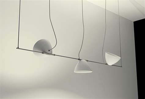 lumina illuminazione omicron pendant luminaire 3 shades by lumina italia