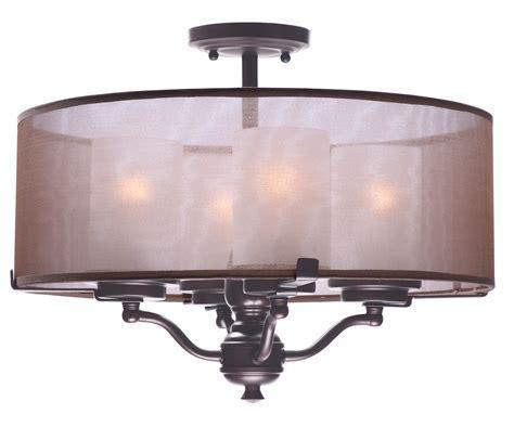 flush mount lighting lucid 4 light semi flush mount semi flush mount maxim
