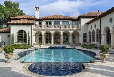 mansions in dallas 8 million 11 000 square foot newly listed mediterranean mansion in dallas tx homes of the rich