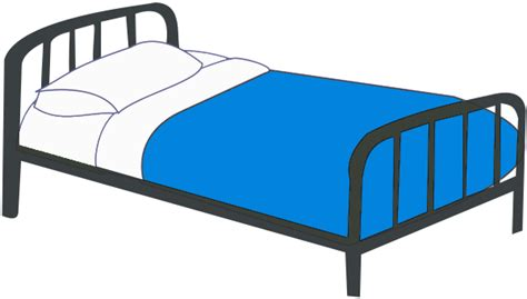 Double Canopy Bed free bedroom clipart 2 pages of public domain clip art