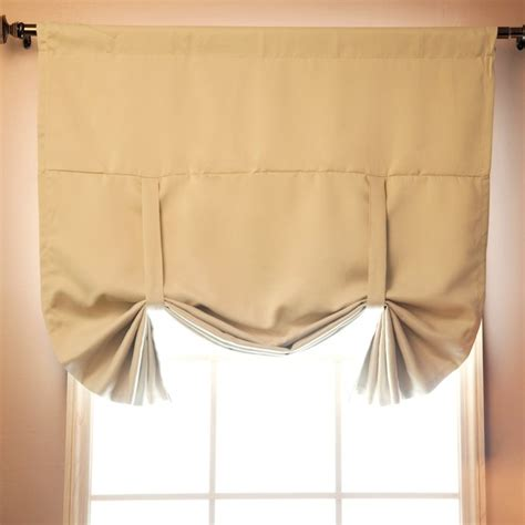 tie up blackout curtains tie up shade solid insulated thermal blackout window shade