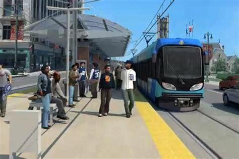 Detroit Light Rail by More Backing For Light Rail Plan In Detroit