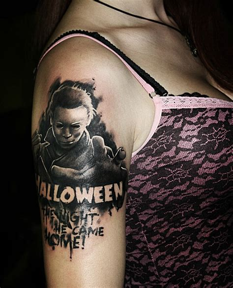 rated r tattoo 20 creeptastic horror tattoos horror tattoos