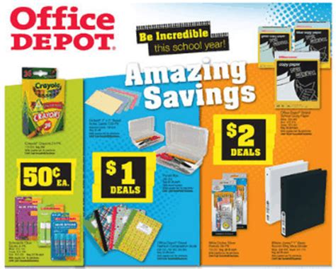 Office Depot Near Me Weekly Ad Office Depot Ad Coupon Deals 9 2