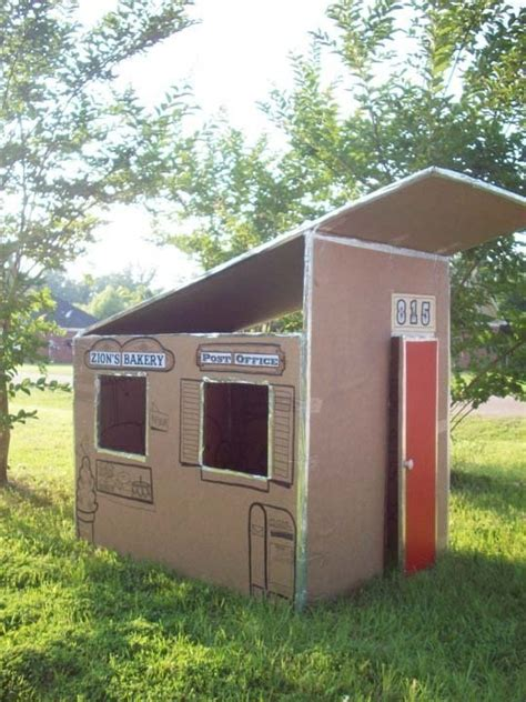cardboard box house 10 diy things to do with a cardboard box home design garden architecture blog
