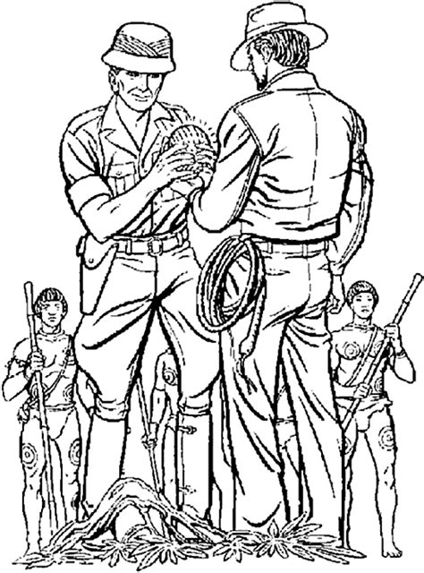 indiana coloring page indiana jones coloring pages 2 coloringpagehub
