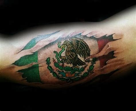 mexican flag tattoo 50 mexican eagle designs for manly ink ideas