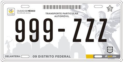 averiguar vehiculo por placa placas de autom 243 viles tendr 225 n nueva nomenclatura pulsodf