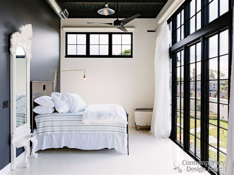 black trim bedroom white walls black trim