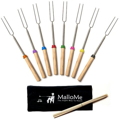 Marshmallow Roasting Sticks light up your with these modern fireplace tools