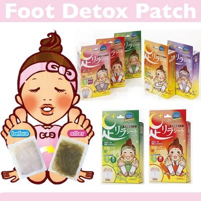Japan Detox Patch Review by Qoo10 Foot Detox Patch Hair Nail