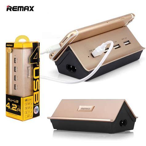 Remax Goldhouse Ru U2 4 Ports Usb Hub Charger 42 A remax ru u2 4 2a 4 ports usb hub gold home chargers shop by category