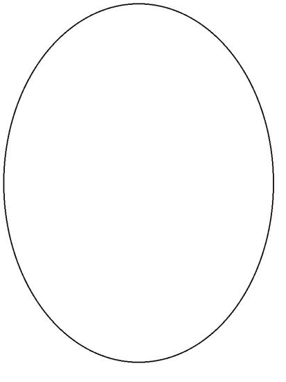 template for oval shape 7 best images of free printable oval template oval shape