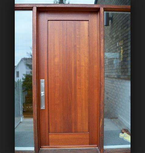 modern wood doors modern wood entry door interior home decor