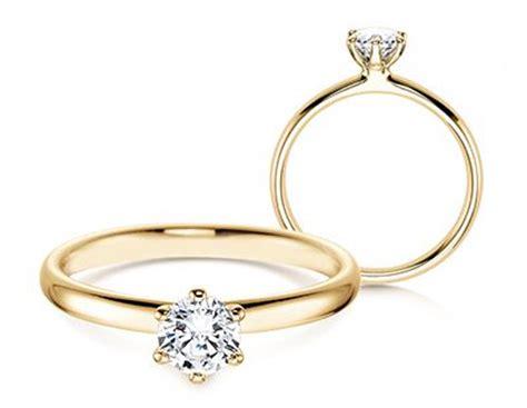 Verlobungsringe In Gold by Diamantring Verlobung Gold Bappa Info