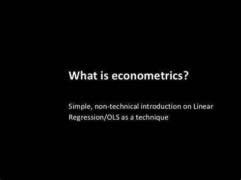 Econometrics 3 In 6 image gallery econometrics formula