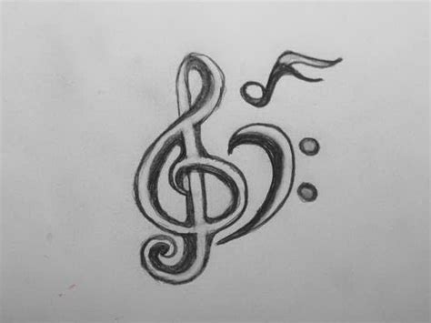 compass tattoo with music notes collection of 25 music tattoo sketch