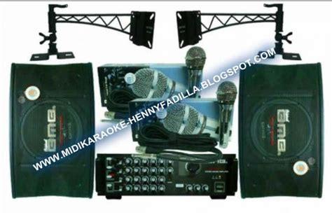 Monitor Lcd Di Glodok teknik membuat studio karaoke di rumah part 2 penataan system karaoke midi karaoke