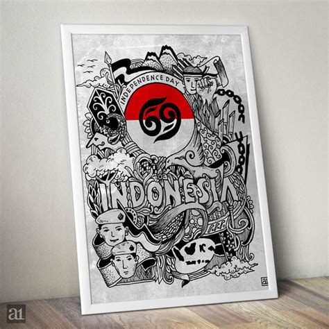 doodle indo cara saya merayakan hut ri ke 69 arwanotes