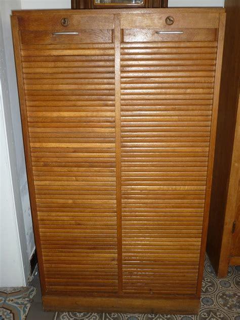 meuble classeur de bureau classeur 224 deux volets roulants meuble de bureau des
