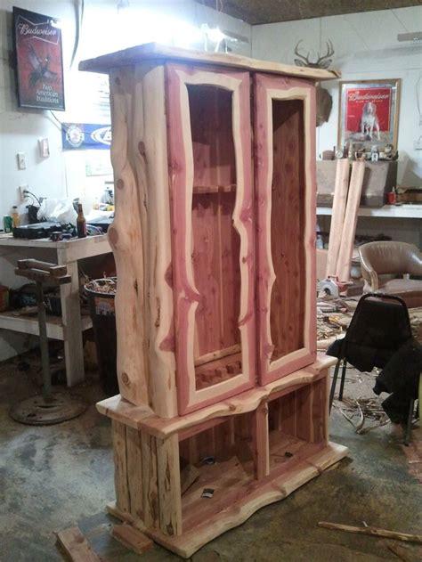 custom armoire cabinet 1000 ideas about gun cabinets on pinterest hidden gun