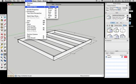 drawing floor plans with sketchup how to draw 2d drawings with google sketchup