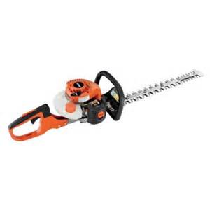 home depot hedge trimmer echo 20 in 21 2 cc gas hedge trimmer hc 152 the home depot