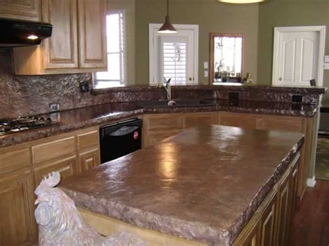 Staining Concrete Countertops by Sted Concrete Fort Worth Decorative Concrete Fort Worth