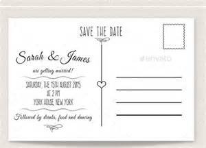 Then Template by 22 Save The Date Postcard Templates Free Sle