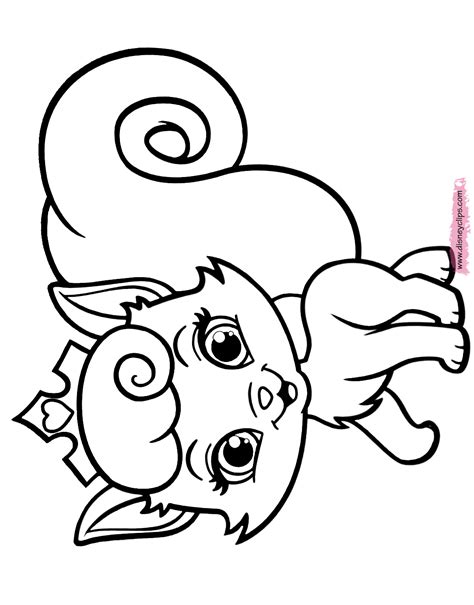 printable coloring pages pets disney palace pets printable coloring pages 2 disney