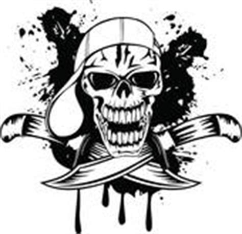 vikingen quality tekne clipart of skull in cap and knifes k9429943 search clip