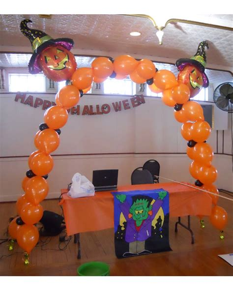halloween pumpkin archway