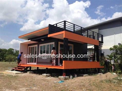 Prefabricated House super low cost prefabricated house fast build light steel villa tiny