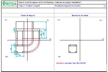 proiezione ortogonale sedia videolezioni 3 sedia