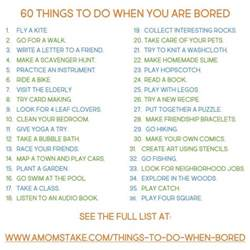 things to do when bored at home 60 things to do when you re bored madetolastwm a s take